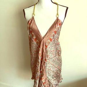 Tops - Silky halter blouse